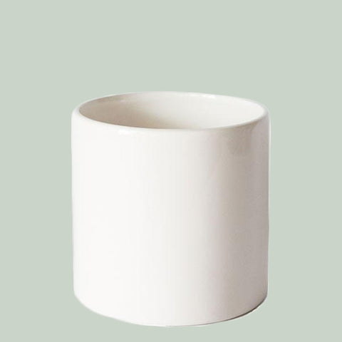 White Cercle Planter - Large
