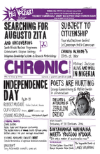 Load image into Gallery viewer, 'Chimurenga Chronic: Graphic Stories' (July 2014)