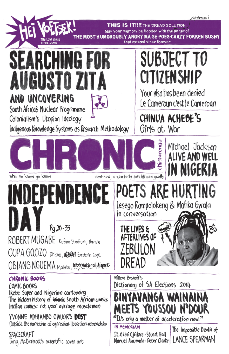 'Chimurenga Chronic: Graphic Stories' (July 2014)