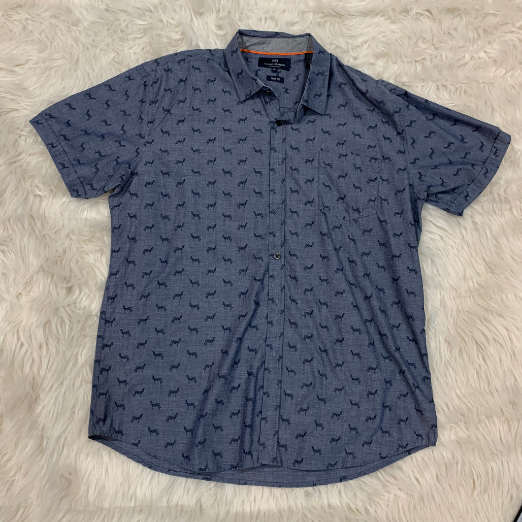 Men's Micheal Brandon Short Sleeve // Size Extra Large