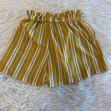 Load image into Gallery viewer, Yellow Striped Shorts // Size 1 (25)