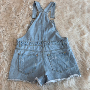 Hot Kiss Shortalls // Size 5/6 (28)