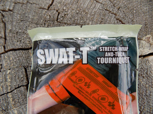 Survival - Stretch Wrap And Tuck - Tourniquet - Package Close up - Wilderness Survival Systems : Picture