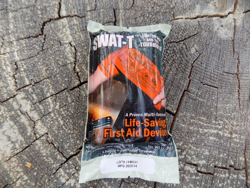 Stretch Wrap And Tuck - Tourniquet - Package - Wilderness Survival Systems : Picture