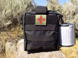 IFAK Advanced - Case with Med Patch Black - Wilderness Survival Systems : Picture