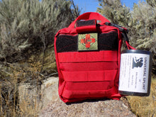 Load image into Gallery viewer, IFAK Advanced - Case with Patch Red - Wilderness Survival Systems : Picture