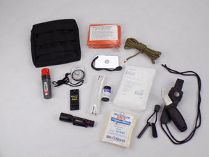 Compact Survival Kit Contents: Picture
