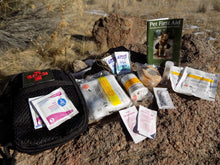 Load image into Gallery viewer, SURVIVAL - Heeler Dog Medical Kit Open - Wilderness Survival Systems : Picture