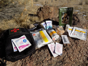 SURVIVAL - Heeler Dog Medical Kit Open - Wilderness Survival Systems : Picture