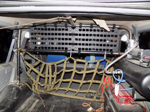 Outdoor Survival Gear - 19.25 X 10.5 RMP in the back of jeep - Wilderness Survival Systems : Picture
