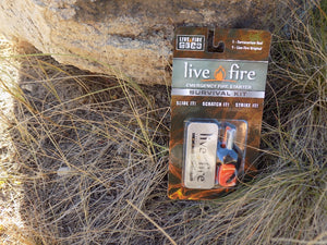 Survival Fire Starter - Live Fire Original - Packaging - Wilderness Survival Systems : Picture