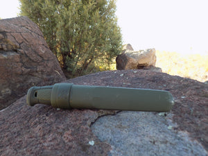 Survival Knife - Mora Kansbol - Knife in Sheath - Wilderness Survival Systems : Picture