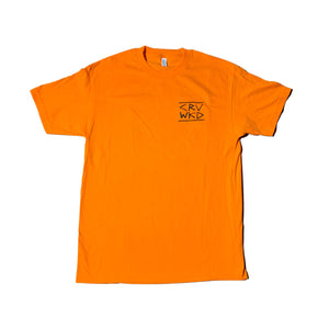 Carve Wicked: PID T SHIRT - Hi Vis Orange
