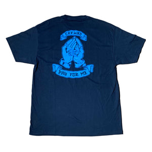 Carve Wicked: PAY FOR ME T SHIRT - Navy