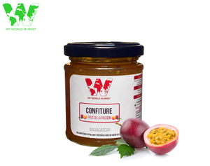 Confiture artisanale aux Fruits de la passion de Madagascar