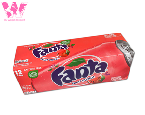 Pack Fanta Fruit Punch (12)