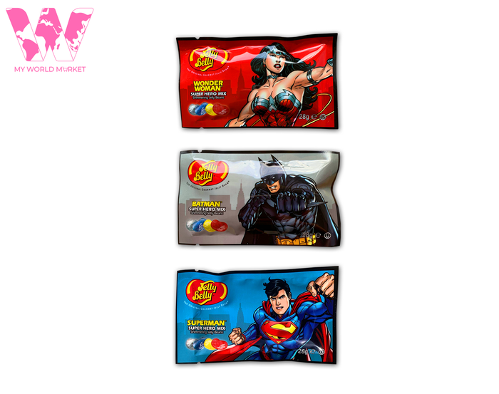Jelly Belly Beans Super Hero mix sachet