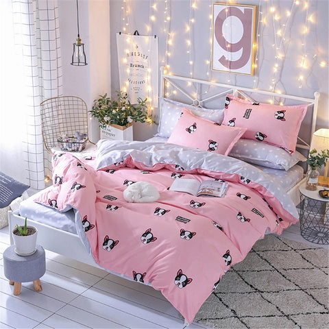 Bedding Set Think Pink