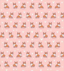 Bedding Set Heart Corgi