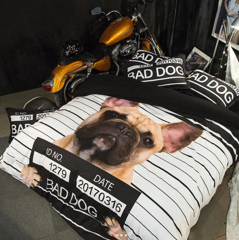 Bedding Set Bad Dog