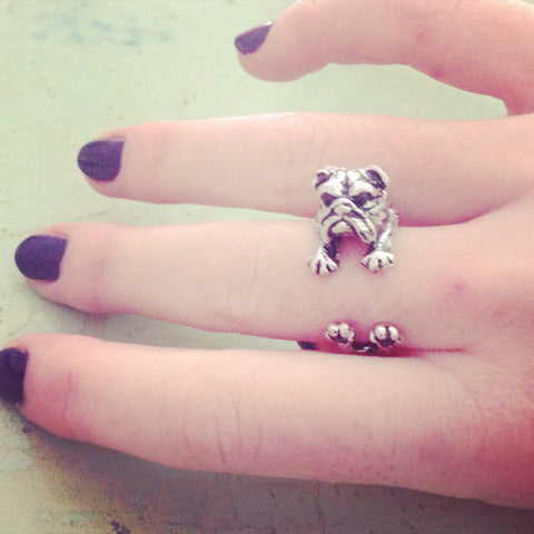 English Bulldog Ring