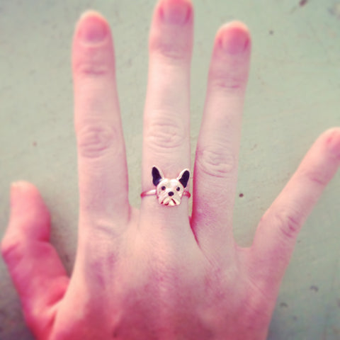 French Bulldog Ring Rame