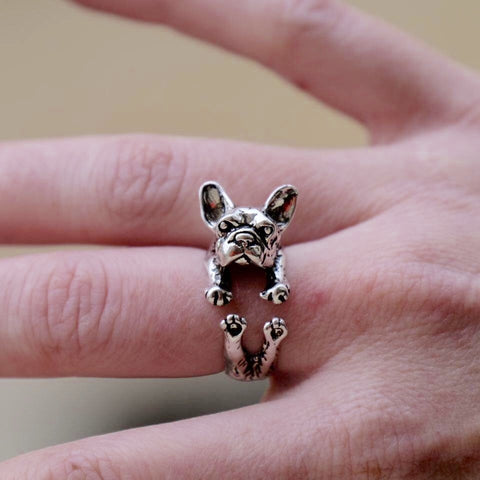 French Bulldog Ring Model 1 (Regolabile)