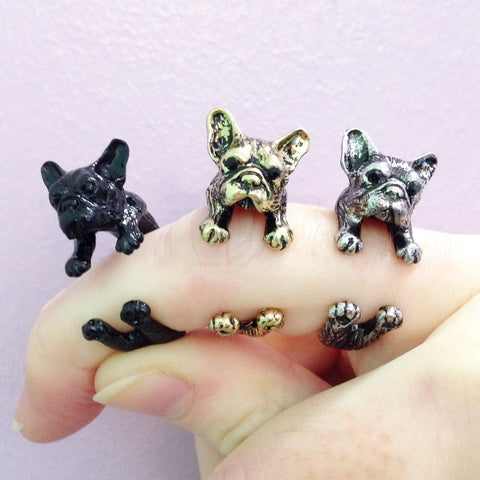 French Bulldog Ring Model 1