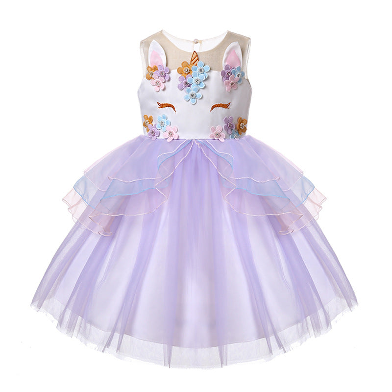 Unicorn Lacy Dress