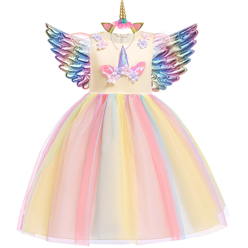 Unicorn Dress with Accessories