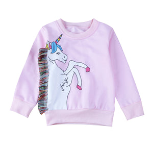 Tassel Unicorn Jumper