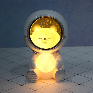 Starry sky animal atmosphere night light