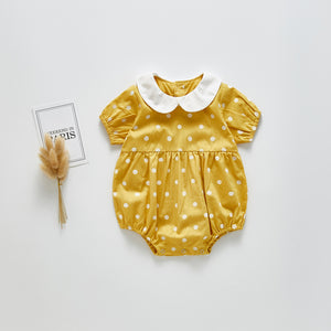 Lotus Collar Babysuit