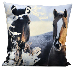 Two Ponies Cushion 45cm