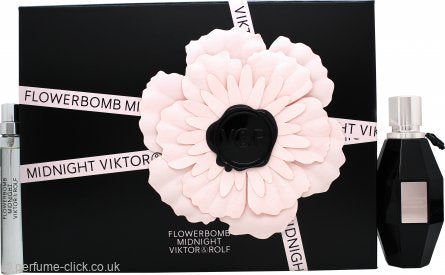 Viktor & Rolf Flowerbomb Midnight Gift Set 50ml EDP + 10ml EDP