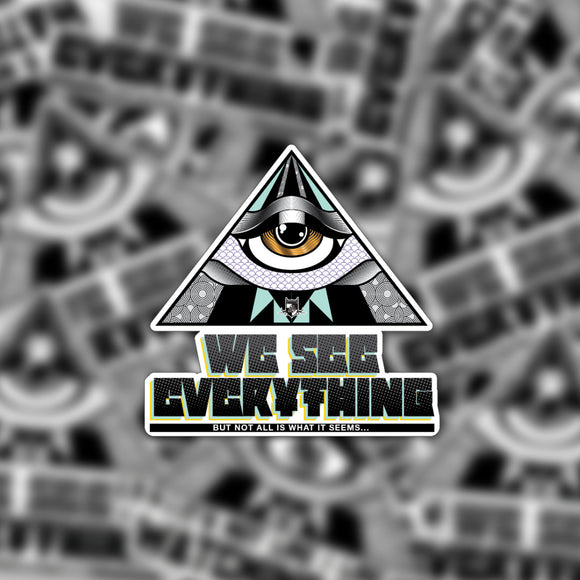 All Seeing Eye 3in Sticker