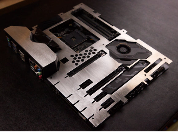 Asus TUF Gaming X570-PLUS Motherboard Armor with Extra plate