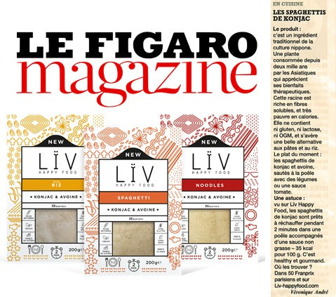 Le figaro magazine liv happy food article konjac