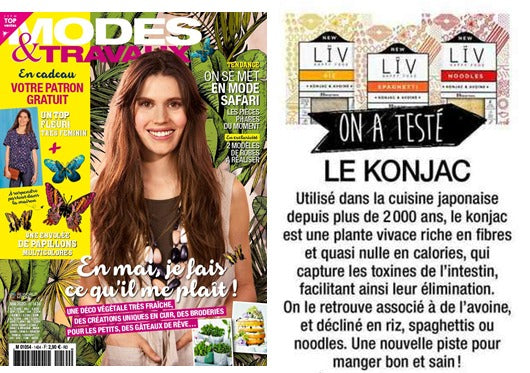 mode et travaux liv happy food article konjac