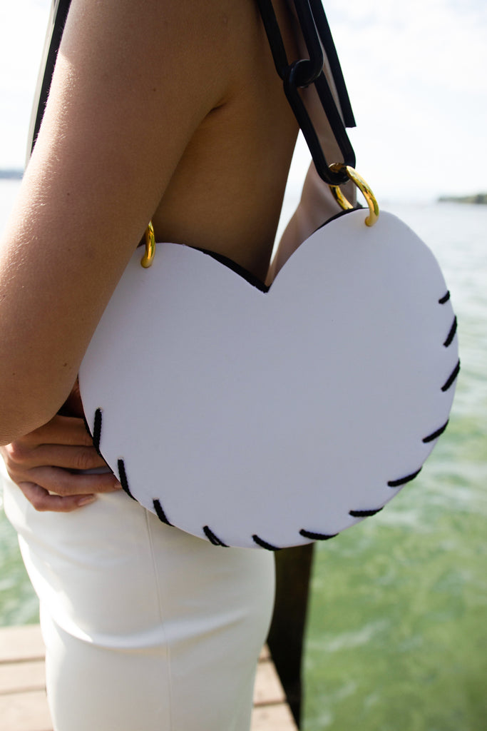 Heart Bag Recycled Foam