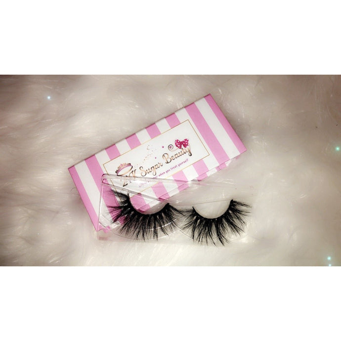 Socialite - 25MM Mink Lashes - 24K Sugar - Similar to Lilly Lashes in Miami Flare