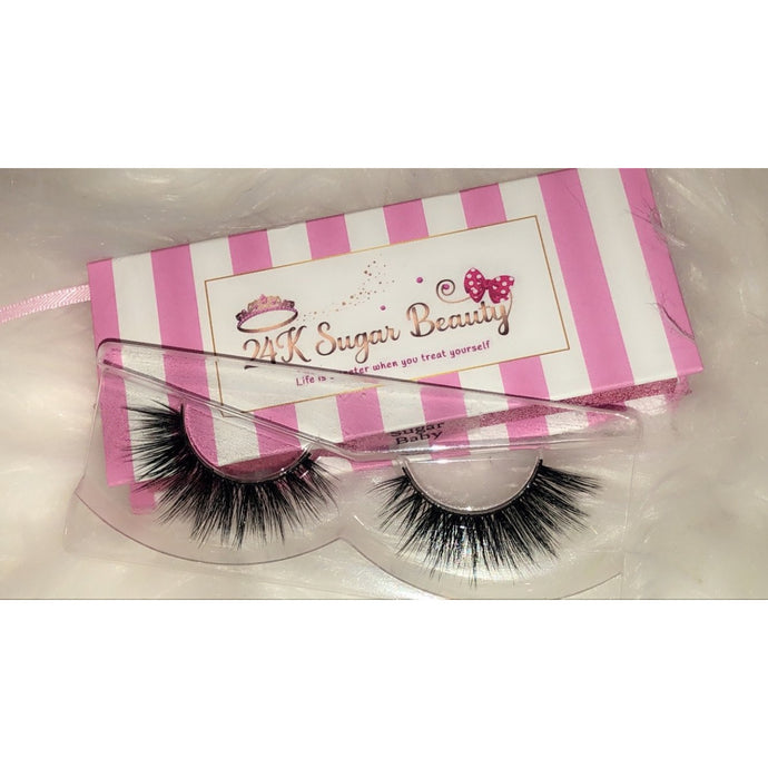 Sugar Baby 3D Mink Lash - 24K Sugar - Similar to Lily Lashes in NYC
