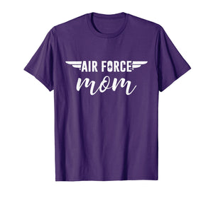 Proud Air Force Military Mom Gift Mother Day T-Shirt