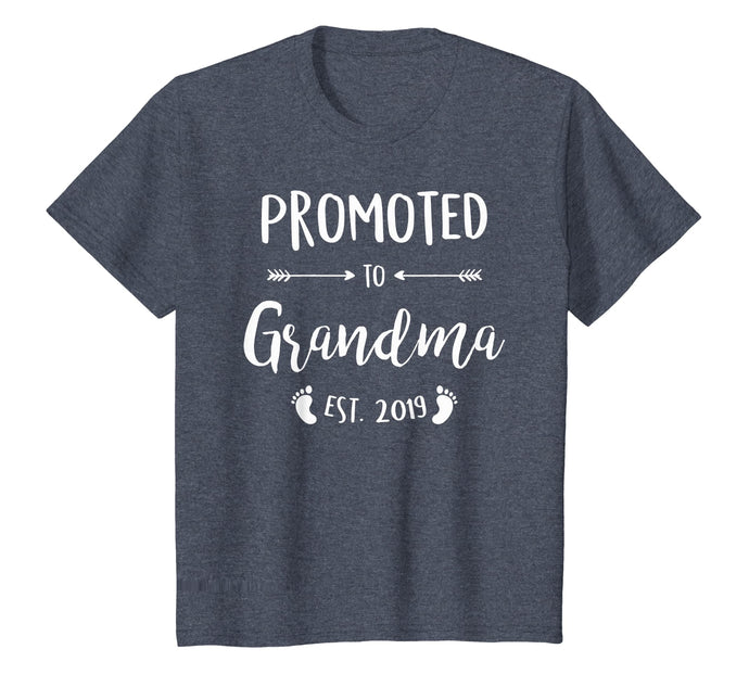 Promoted to Grandma Est 2019 New Grandma T-Shirt Mothes Day