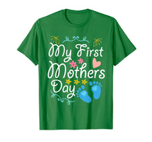 Load image into Gallery viewer, Pregnancy My First Mothers Day Baby Kid Happy Day Mom Shirt