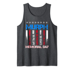 Memorial Day Murph Shirt 2019 Workout 19 T-Shirt Tank Top