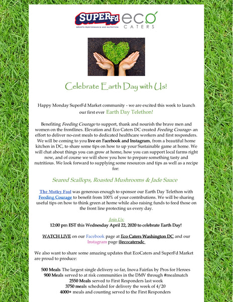 Celebrate Earth Day Newsletter 04/22/20