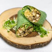 Load image into Gallery viewer, Miso Shiitake-Tofu Wrap-Sandwich Kit (2 Wraps)