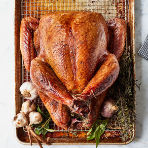 A la Carte Maple-Cayenne Brined Turkey (10-12 lbs)