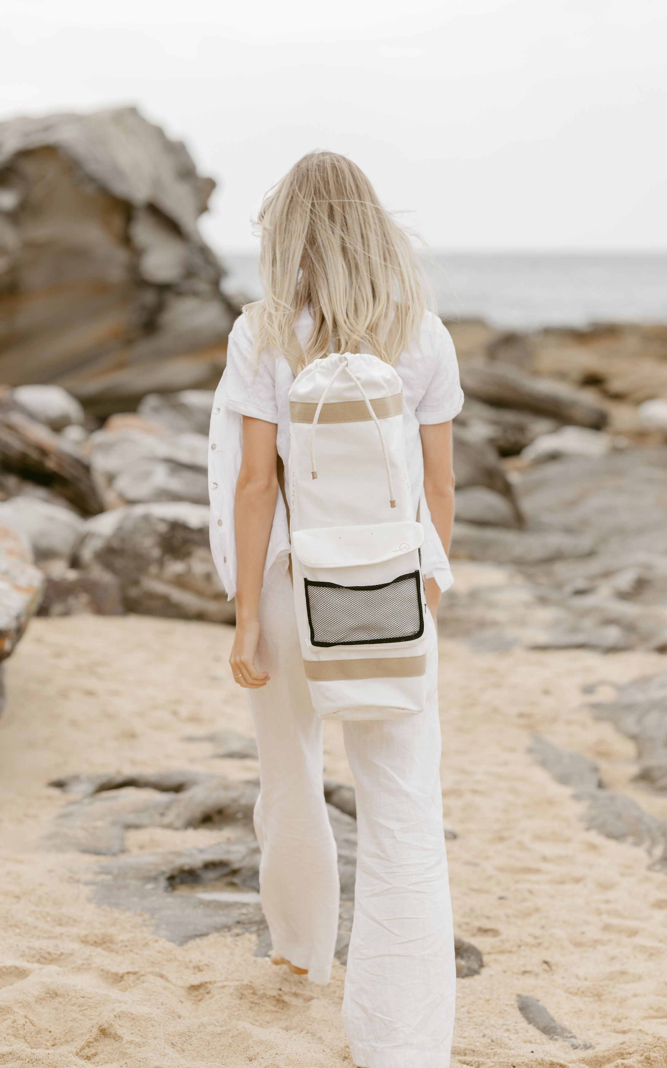 Sandbar and Matching Canvas Bag - The Leighton Release